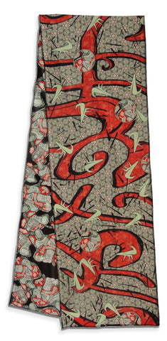 Carmine - Reversible Performance Scarf