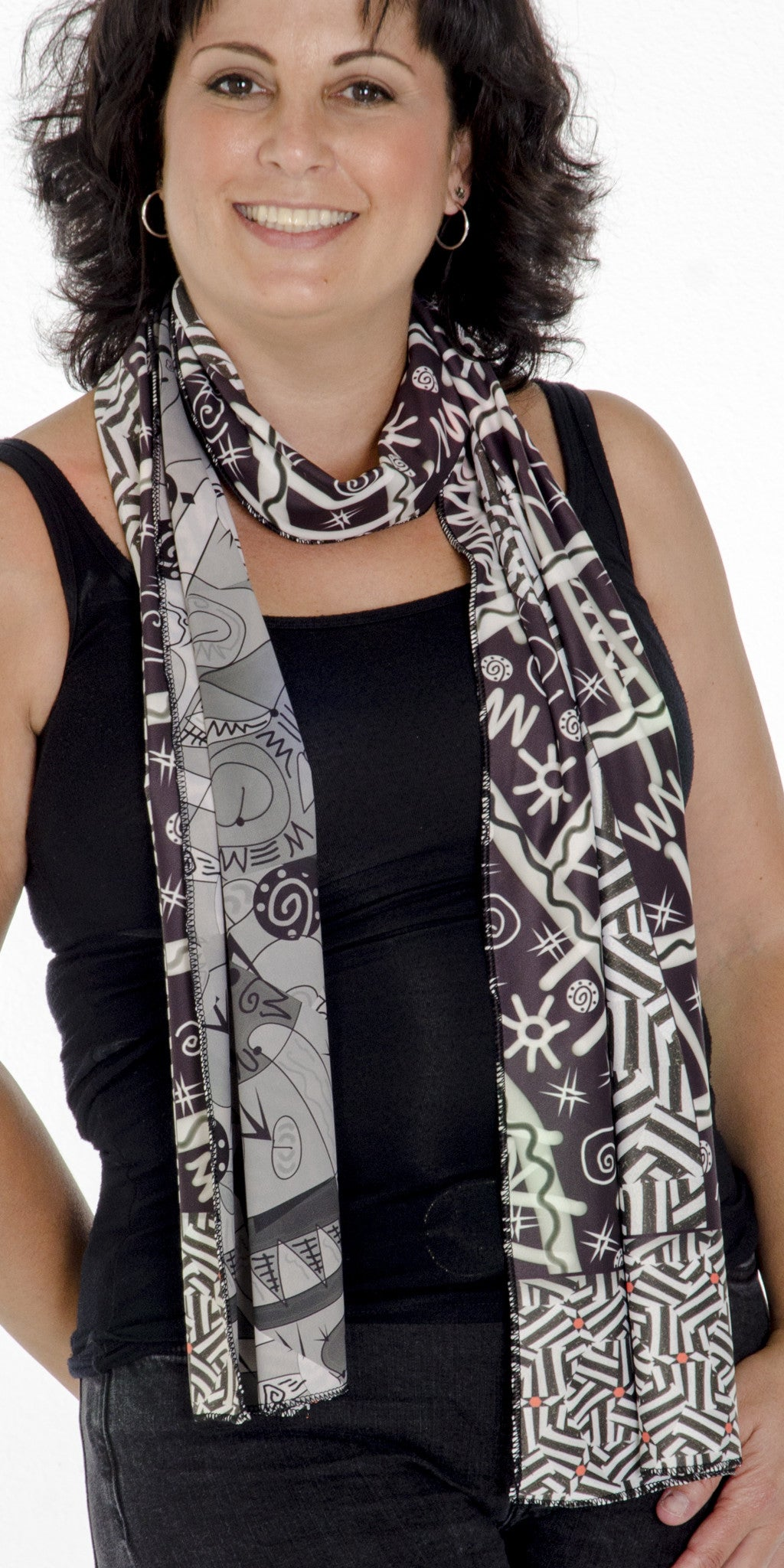 Take The A Train - Reversible Performance Scarf