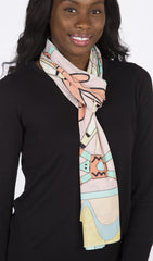 Painted Desert - Reversible Performance Scarf