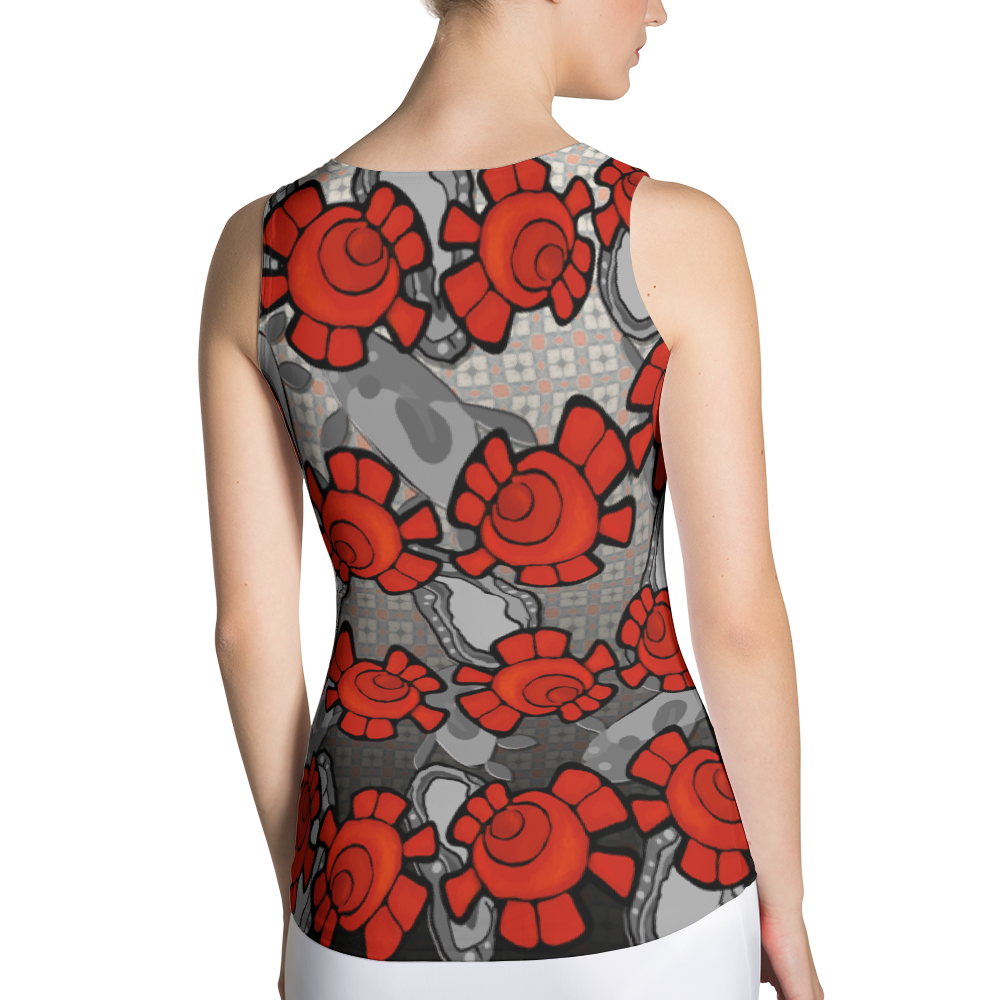 """Amopolo"" (Poppy) Tank Top"