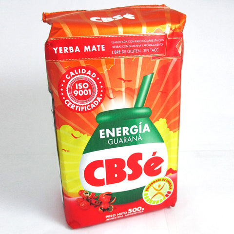 Yerba Mate CBSE Energia Energy Tea 500 g 1.1 Lb Argentina Loose Herbal Drink New