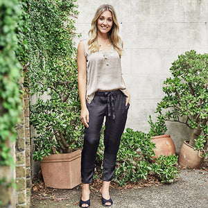 Camilla Pants - Black - Nolan & Co