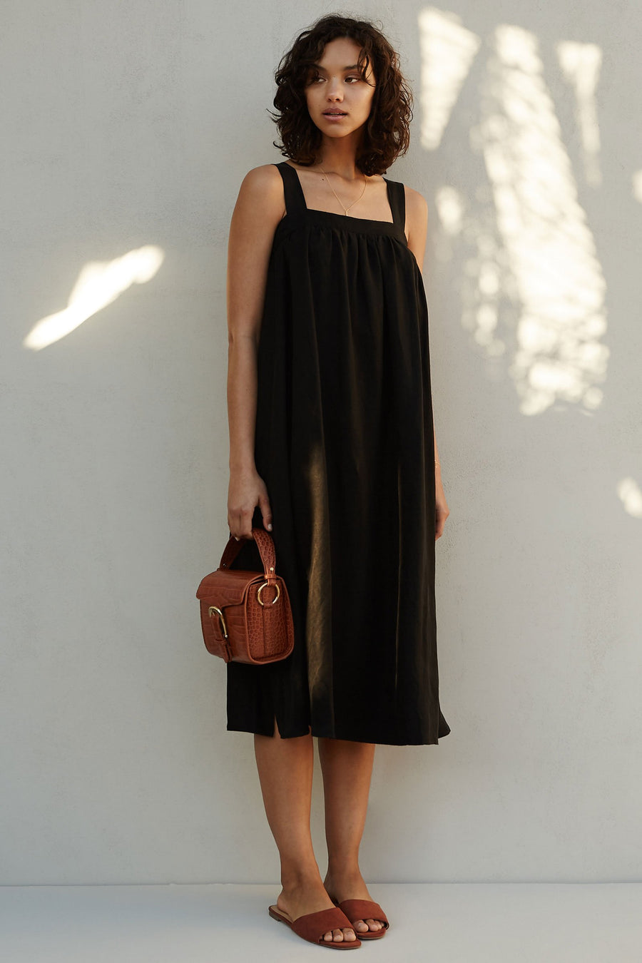The Saya Dress - Black / Noir