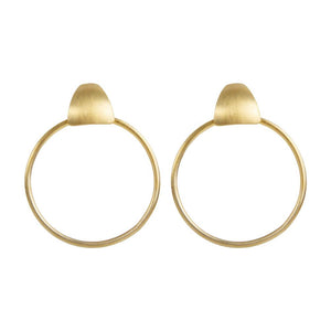 Alexa Coco Hoops - Gold - Nolan & Co