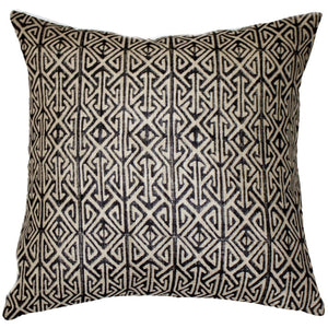 Tribal Arrow Black - Indoor Cushion - Nolan & Co