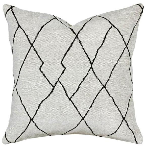 Malawi Jet / Ivory - Indoor Cushion - Nolan & Co