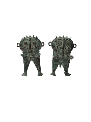 Bronze Fertility Dolls - Set of 2 - Nolan & Co