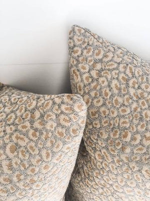Crystal Leopard Cushion