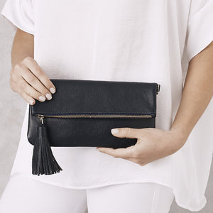 Olivia Clutch - Navy - Nolan & Co