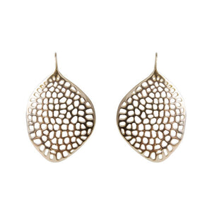 Alexa Coral Earrings - Gold - Nolan & Co