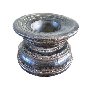 Old Indian Timber Seeder - Candle Holder - Nolan & Co
