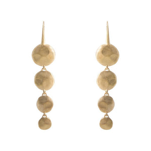 Alexa Waterfall Earrings - Gold - Nolan & Co