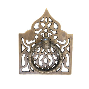 Temple Door Handle - Solid Brass - Large - Nolan & Co