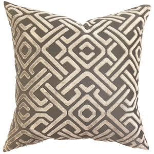 Bakuba Midnight - Indoor Cushion - Nolan & Co