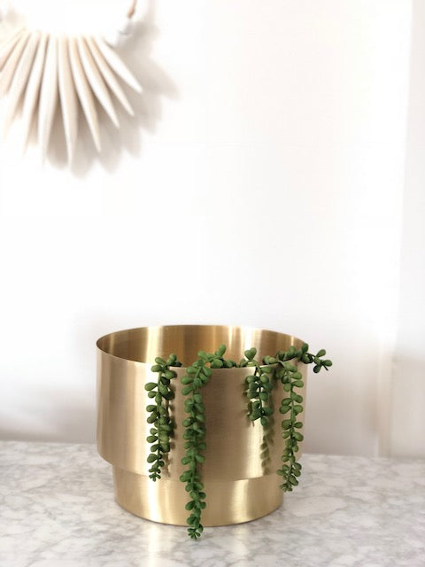 Brass Pot - Large - Nolan & Co