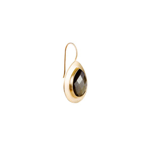 Samara Golden Obsidian Earrings - Nolan & Co