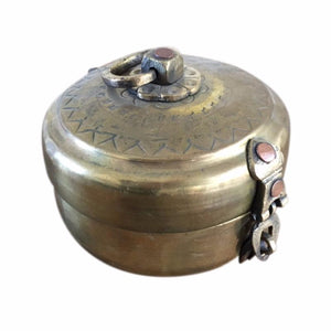 Brass Chapati Tin - Small - Nolan & Co