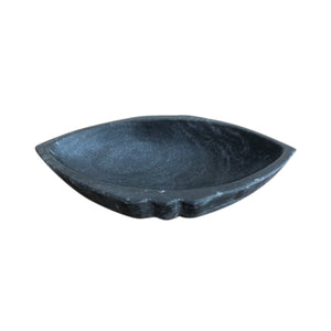 Marble Boat Bowl - Black - Nolan & Co