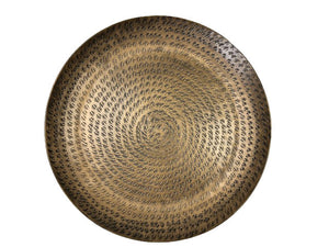 Hammered Brass Tray - Nolan & Co