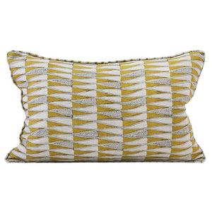 Tangier Saffron - Indoor Cushion - Nolan & Co