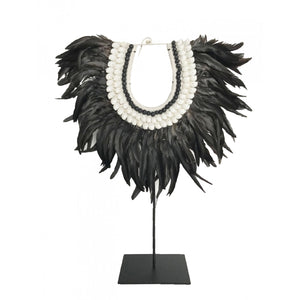 Feather Collar - Black - Nolan & Co