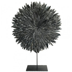 Feather Disc - Small - Charcoal - Nolan & Co