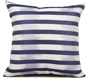 St Tropez Indigo - Outdoor / Indoor Cushion - Nolan & Co