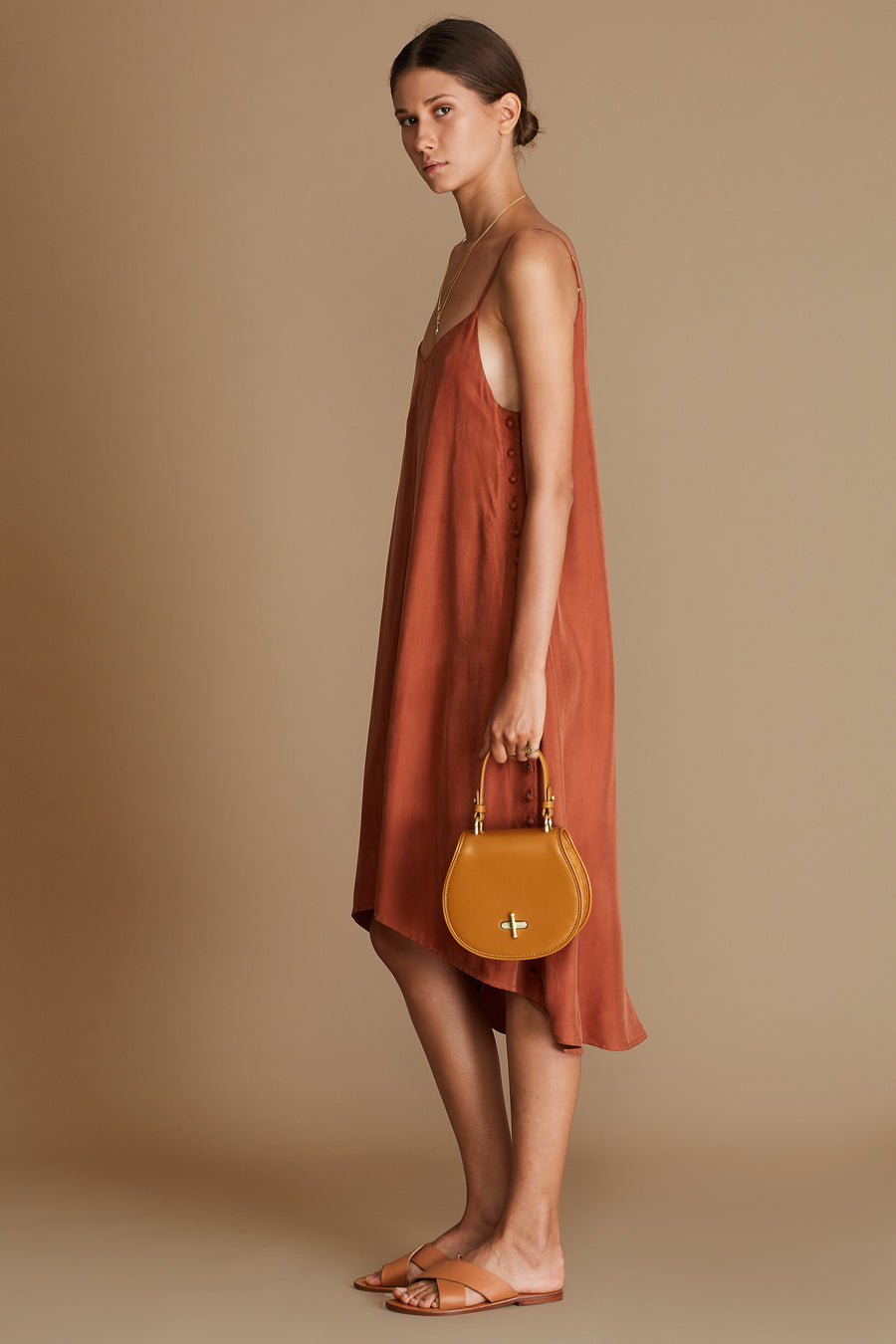 The Claudia Dress - Terracotta - Nolan & Co