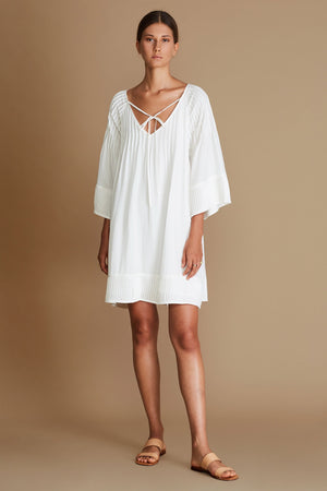The Bellona Dress - Ivory - Nolan & Co