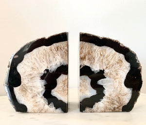 Brazilian Agate Book Ends (A) - Set of 2 - Nolan & Co