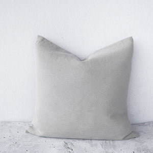 100% Stonewashed European Linen Cushion - Parchment - Nolan & Co