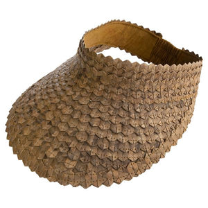 Woven Palm Leaf Visor - Nolan & Co