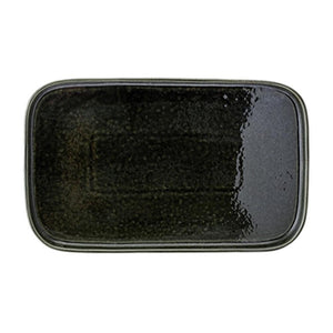 Joëlle Ceramic Stoneware Tray - Green - Nolan & Co