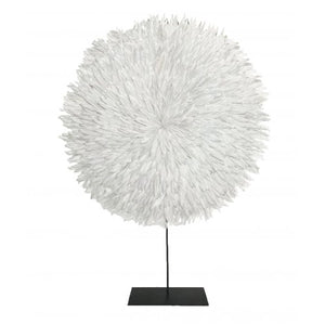 Feather Disc - Large - White - Nolan & Co