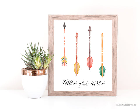 Follow Your Arrow (multi-color)