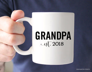 Grandpa or Grandpa-to-be Pregnancy Announcement Mug