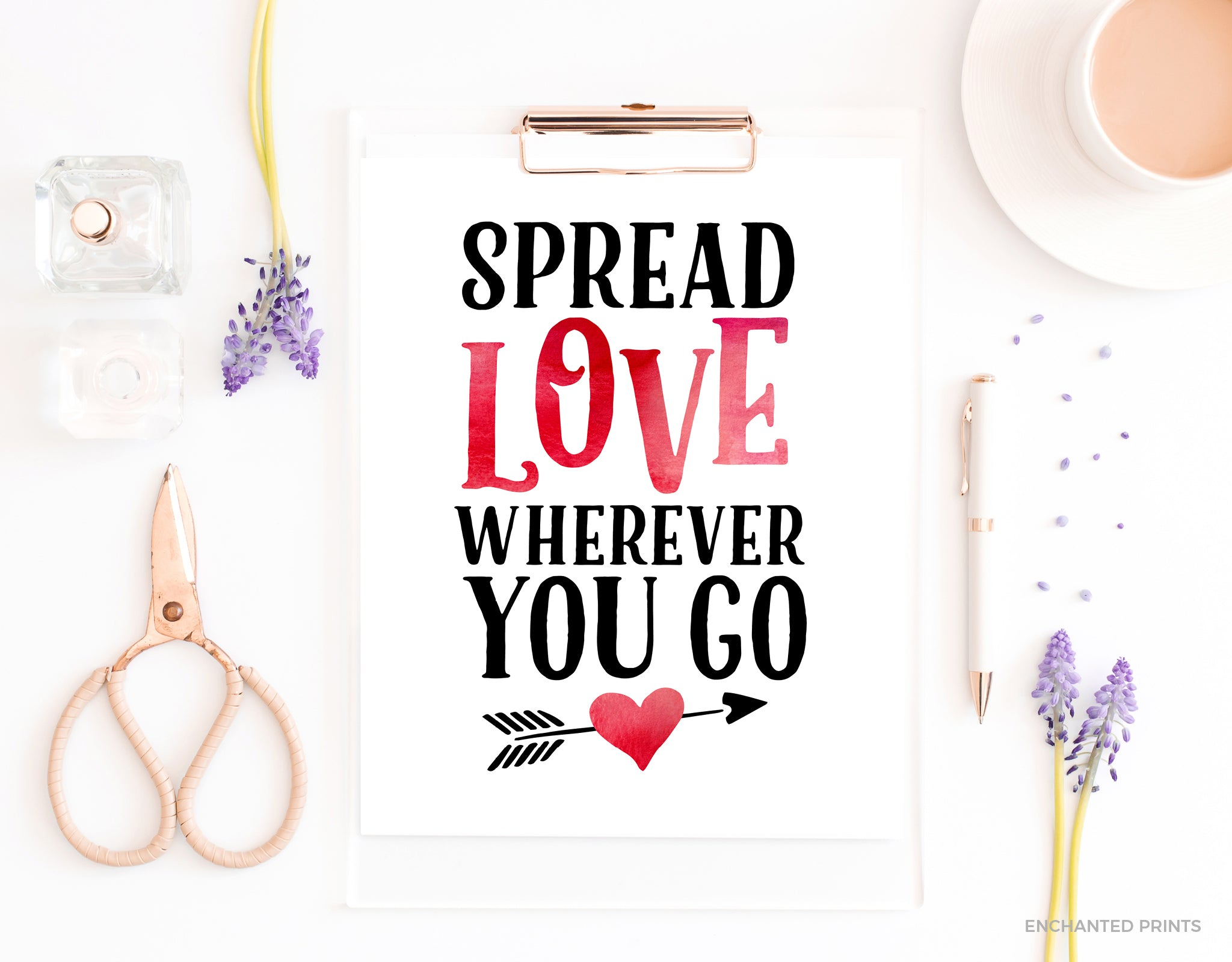 Spread love wherever you go