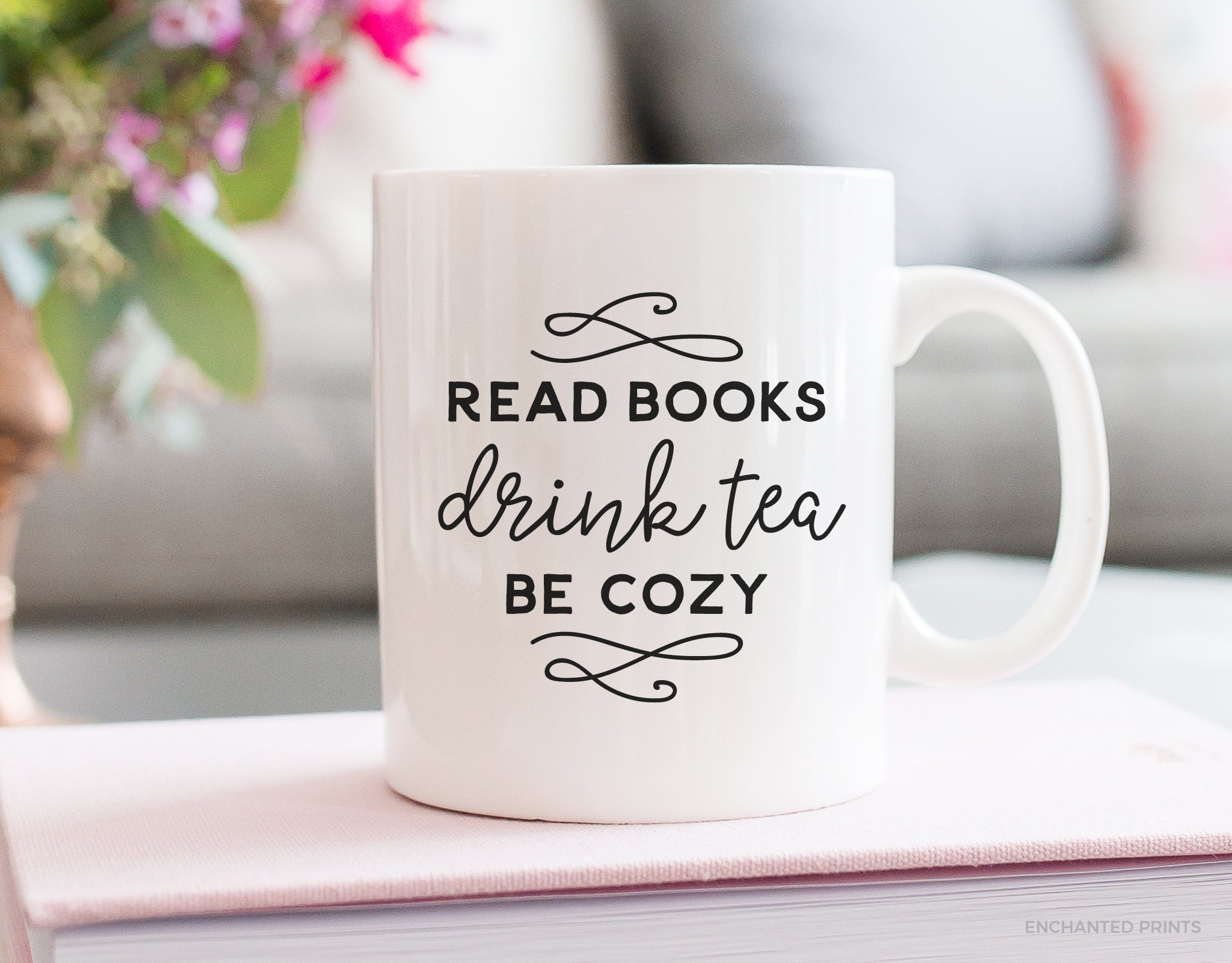 Read Books, Drink Tea Mug