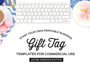 Gift Tag Templates, Adobe InDesign Edition