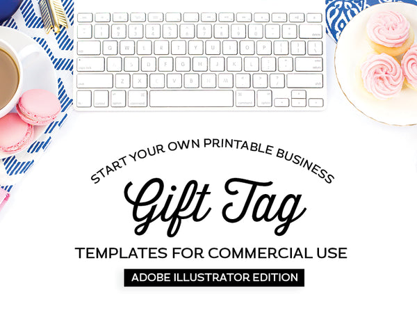 Gift Tag Templates, Adobe Illustrator Edition