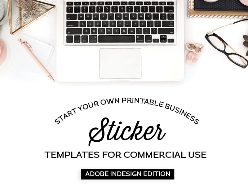 Sticker Templates, Adobe InDesign Edition