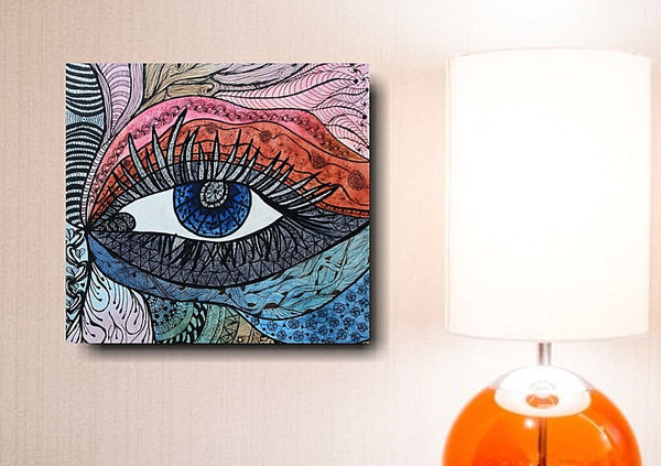 Window to the Soul - Zentangle - Abstract Artwork by Nancy Chovancek Zentangle - abstract artwork Zentangle - zentangle artwork Abstract Artwork by Nancy Chovancek - 123rf.com