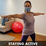 Wearing a mask while working out
