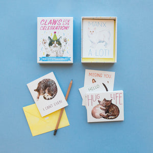 Claws For Celebration Greeting Card Set