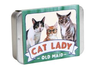 Cat Lady Old Maid Card Game