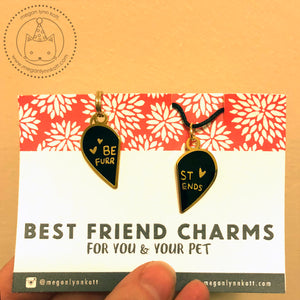 LIMITED EDITION - Best Friend Charms for You & Your Pet