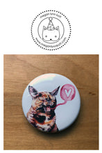 "LIMITED EDITION - Love Bites - Set of Four 1.5"" Valentine's Day Buttons"