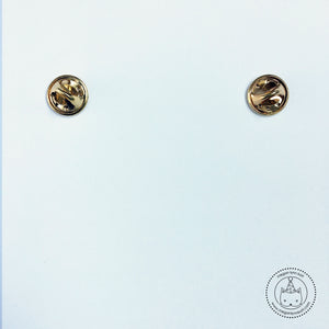 LIMITED EDITION - Cat Face Collar Pins with Chain