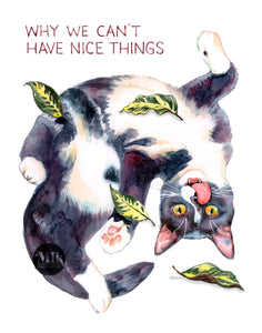 "Nice Things - 11x14"" Signed Art Print"