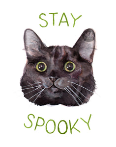 "Stay Spooky - 11x14"" Signed Art Print"